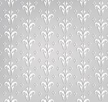 Teste padrão de flor sem emenda. Ornamento floral abstrato. Textura de brocado vetor