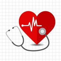 Coração, cuidado, ícone vetor
