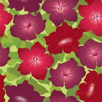 Estampa floral. Flor de fundo sem emenda. Florescer jardim ornamental