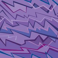 Abstrato geométrico padrão sem emenda. Linha ornamento do ziguezague da tela. vetor