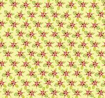 Teste padrão de flor Oriental Resumo ornamento floral Redemoinho tecido fundo