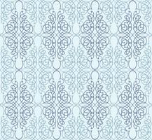 Redemoinho padrão floral. Ornamento abstrato. Fundo sem emenda de brocado vetor