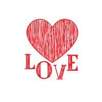 Padrão de corações de amor. Elemento de decoração de feriado de dia dos namorados