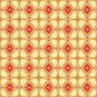 Teste padrão de flor sem emenda Ornamento floral abstrato. Textura de tecido oriental