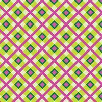 Ornamento de tecido. Seamless tartan pattern Fundo geométrico quadrado vetor