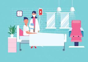 Personagens de cuidados de saúde Vol 4 vetor