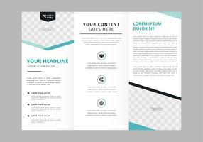 Modelo de vetor de brochura profissional