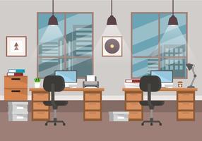 design de escritório vetor