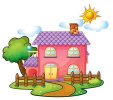 uma casa vetor