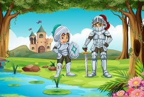 Cavaleiros vetor