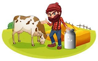 Agricultor vetor