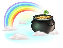 As moedas de ouro e o arco-íris
