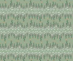 padrão sem emenda com motivo floral de cobra no fundo vetor