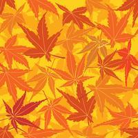 Teste padrão floral abstrato. Folhas redemoinho sem costura de fundo vetor