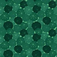 Padrão de telha floral abstrato. Jardim, folhas, fundo vetor