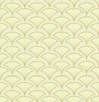 Resumo padrão sem emenda. Ornamento de forma de leque. Pano de fundo oriental floral vetor