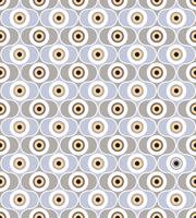 Círculos de fundo sem emenda. Ornamento geométrico elegante vetor