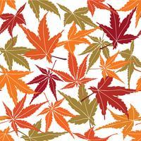 Teste padrão floral abstrato. Folhas redemoinho sem costura de fundo