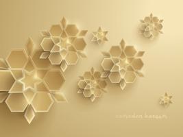 Gráfico de papel da arte geométrica islâmica