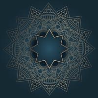 Design elegante mandala vetor