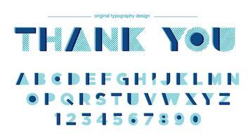 Design moderno de tipografia abstrata vetor