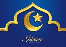 Desenho vetorial islâmico