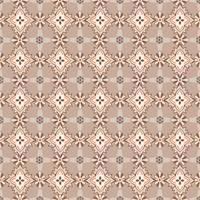 Seamless mosaic pattern Ornamento floral abstrato textura de tecido Oriental