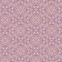 Linha padrão floral. Ornamento abstrato. Fundo sem emenda de brocado vetor