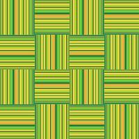 Padrão de forma geométrica abstrata. Ornamento quadrado. Fundo da telha vetor