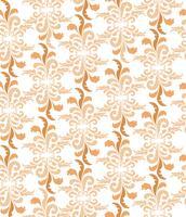 Teste padrão floral abstrato. Ornamento sem emenda geométrico elegante vetor