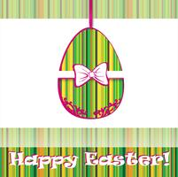 Sinal de ovo de Páscoa. Fundo de cartão de Páscoa. Símbolo religioso.