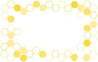 fundo de colméia de abelha vetor