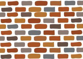 vetor de parede de tijolo