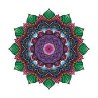 Mandala colorida linda 3