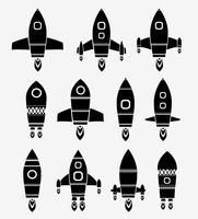 Nave espacial vetor