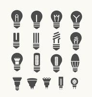 lâmpadas vetor