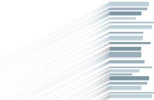 vetor de fundo abstrato azul linha e espaço