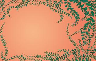 Planta de Margarida mexicana de botões de casaco na parede de tijolos e vetor de arte de fundo de espaço