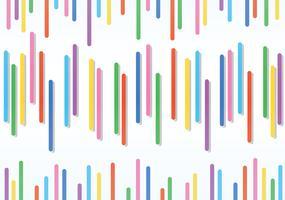Resumo de arco-íris e fundo do espaço vetor