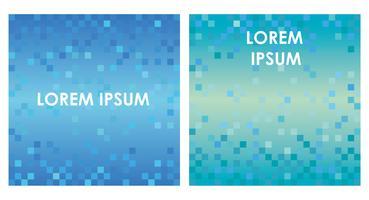 Conjunto de fundos abstratos quadrados com textura de polígono. vetor