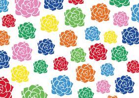 fundo colorido da flor