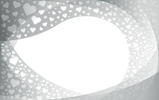 o coração do fundo do amor vetor