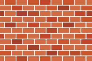 Abstrato da parede de tijolo marrom - desenho vetorial vetor