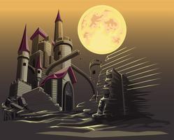 castelo. vetor