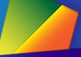 Abstrato design digital material design template.vector, ilustração design3