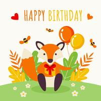 Feliz aniversário vector