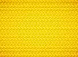 Fundo geométrico do ouro do teste padrão do triângulo luxuoso. ilustração vetorial eps10