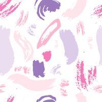 Fundo de traçado de pincel padrão abstrato. Ilustração vetorial vetor