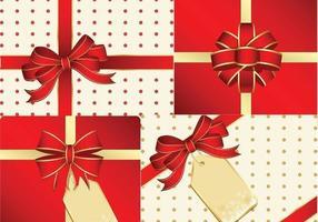 Pacote Vector do presente de Natal