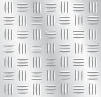 ilustração em vetor placa fundo metal